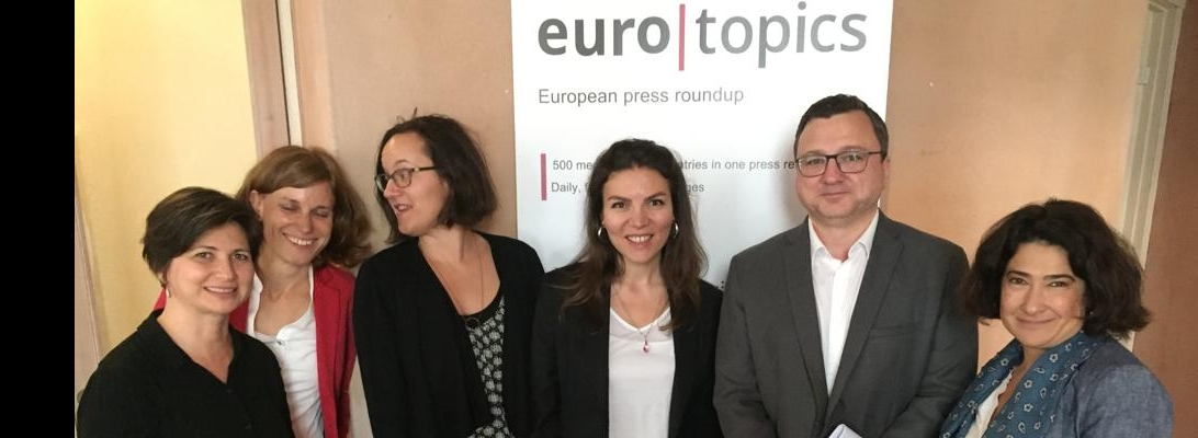 euro|topics visits newsrooms in Turkey